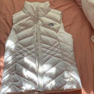 NorthFace White vest